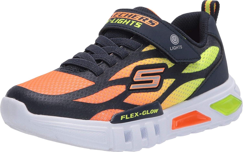 Skechers Kids' Flex-Glow-Dezlo Sneaker