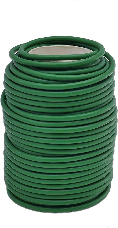 Stems /& Stalks DGQ Garden Flexible Tie Soft Twist Tie Tomato Plant Ties 65.5 Green Soft Twist Plant Tie for Supporting Plant Vines