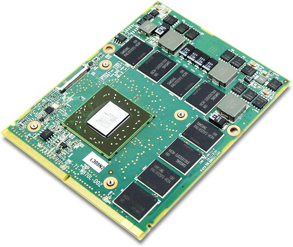 Genuine New Notebook PC GPU Graphics Video Card AMD ATI Mobility Radeon HD 5870, for MSI Laptop GT683 GX660 GX740 GX640 GT680 GT680, 1GB GDDR5 MXM 3.0 VGA Board Replacement Repair Parts
