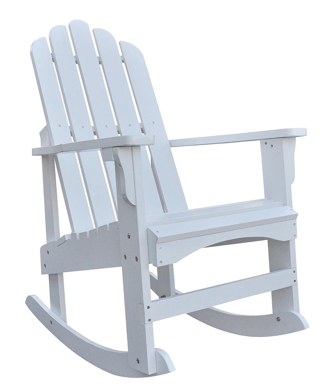 Amazon.com : Shine Company Marina Porch Rocker Chair, Natural : Patio Rocking  Chairs : Garden U0026 Outdoor