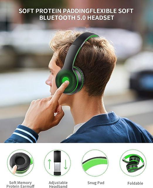 Kopfhörer Bluetooth 5.0 Multifunktion Kraftvoll Anrufen Musik Universal Headset