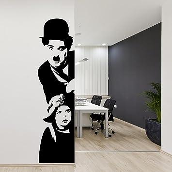 Adesivi Murali Charlie Chaplin.Adesiviamo 971 M Adesivo Murale Charlie Chaplin Il Monello Wall Sticker Vinyl Decal Adesivo Prespaziato In Vinile Design Arredamento Per Decorazione