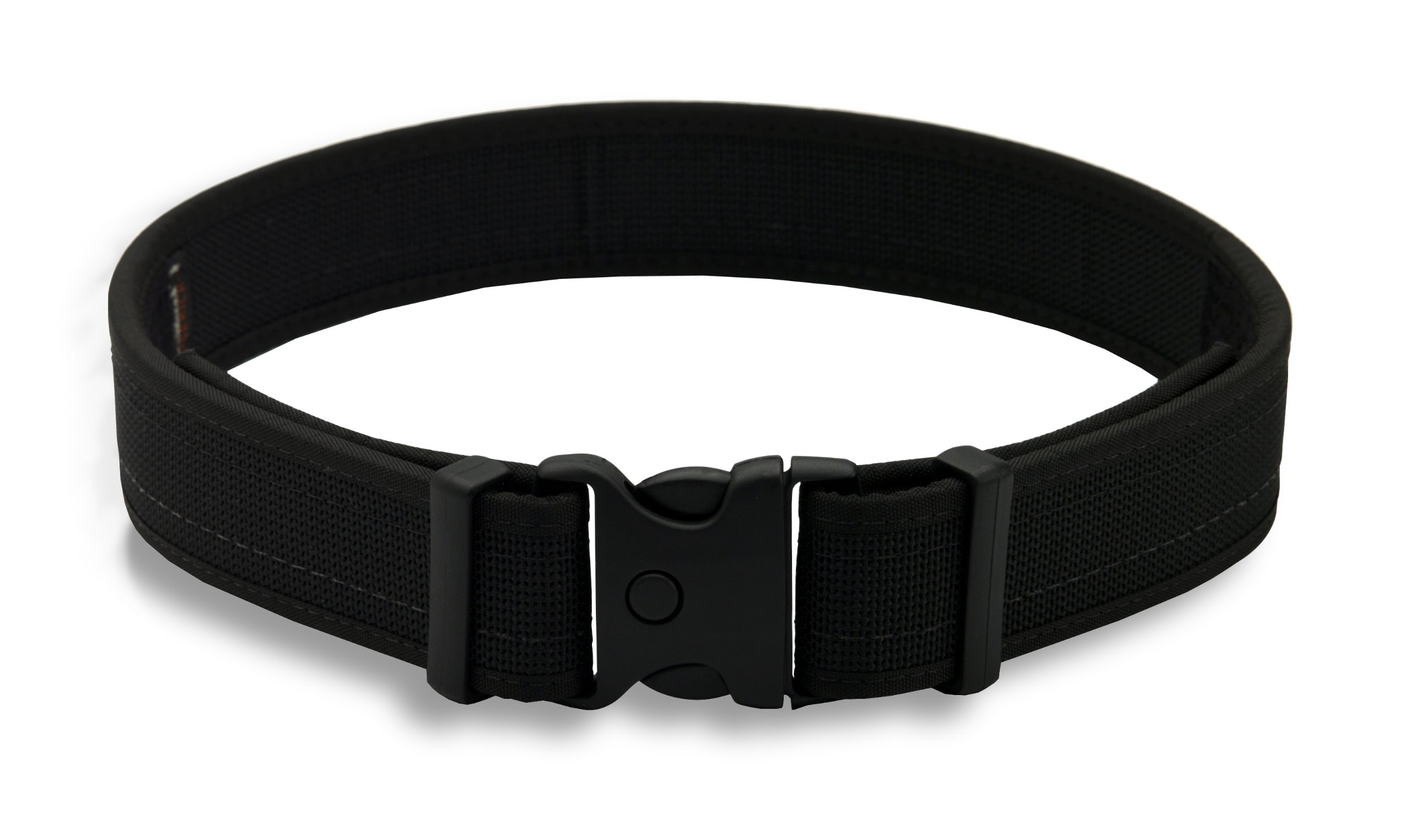 Uncle Mike's 87721 Law Enforcement Kodra Nylon Web Ultra Duty Belt without Hook & Loop Lining, Small (26-30 Inches), Black