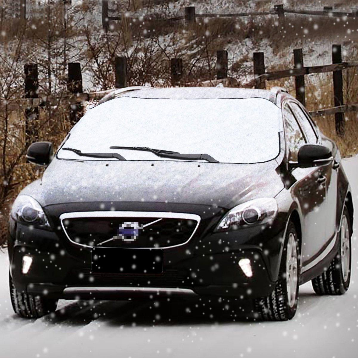 Amazon.es: Coche cubierta de nieve coche Smart Cover Cubierta de ...
