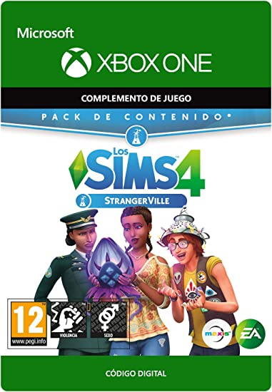 The Sims 4: Strangerville DLC | Xbox One - Download Code: Amazon ...