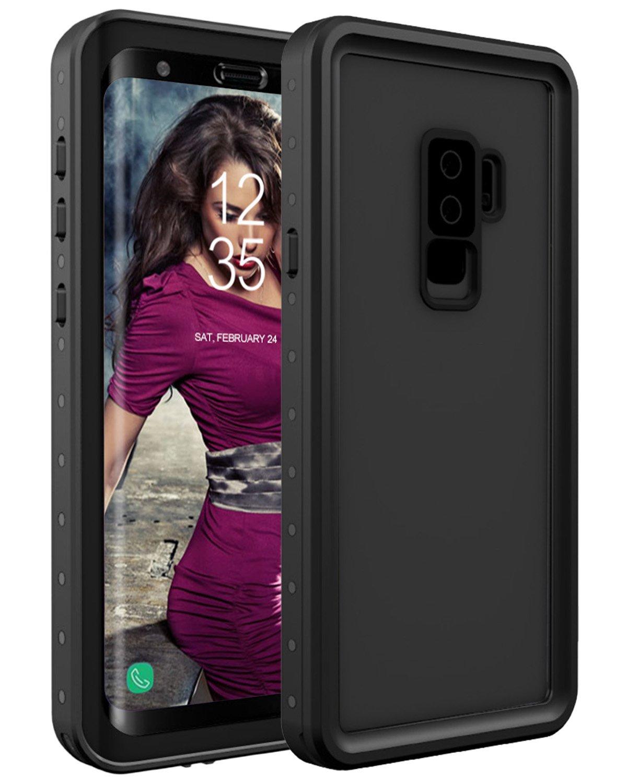 Funda Impermeable Galaxy S9 Plus,Galaxy S9 Plus Waterproof Case, Snewill Underwater Full Sealed Clear Case Cover Snowproof Shockproof Dirtproof IP68 ...