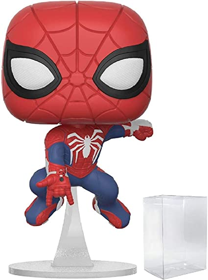 FREE POP PROTECTOR FUNKO POP VINYL MARVEL SPIDER-MAN HOMECOMING TONY STARK