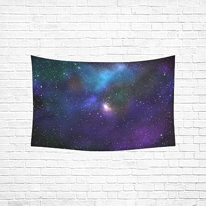 Amazon com: MOVTBA Galaxy Photoshop Tutorial Colors Tapestry
