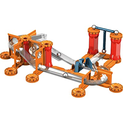 Geomag - MECHANICS GRAVITY TRACK - 115-Piece Building Set with Magnetic Motion, Certified STEM Marble Run Construction Toy for Ages 7 and Up: Toys & Games [5Bkhe1001558]