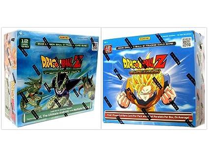 Amazon.com: Dragon Ball Z Juego de cartas coleccionables ...