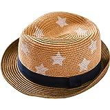 d69eaa628469 Chic-Chic Chapeau de Paille Bébé Fille Garçon Chapeau de Soleil Solaire  Capeline de Plage