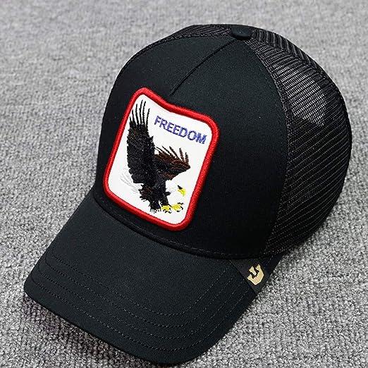 sdssup Gorra de Verano Caos Bordado Informal Águila Parejas Animal ...