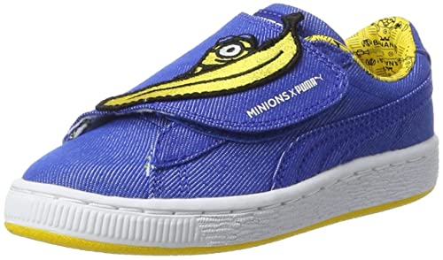 Puma Minions Basket Wrap Statement Denim PS, Zapatillas Unisex para Niños: Amazon.es: Zapatos y complementos