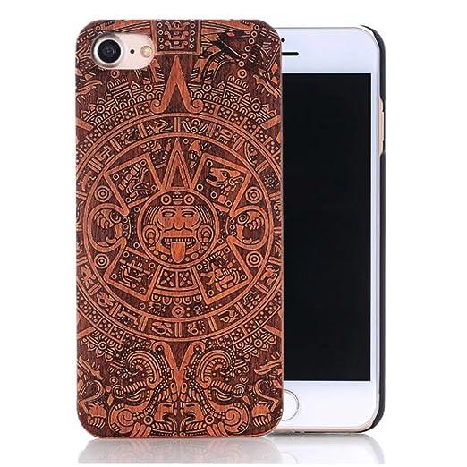 7 opinioni per Cover iphone 7, Custodia iphone 7, Sunroyal® Custodia Case Cover di legno Bambù