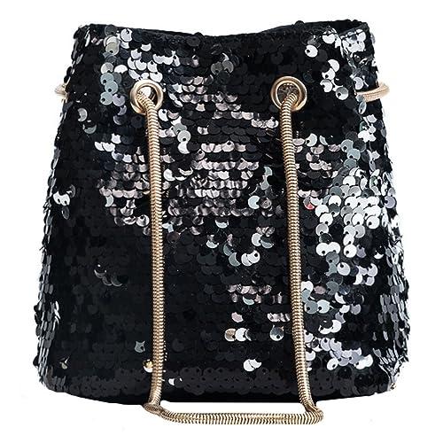 2a3938ecdbd7 Heidi Women Girls Fashion Sequins Crossbody Shoulder Bag Charming ...