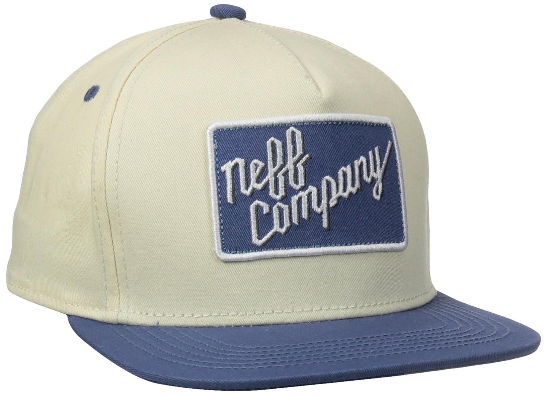 Neff Company Snapback Cap Gorra, Bronceado, FR : (Taille Fabricant ...