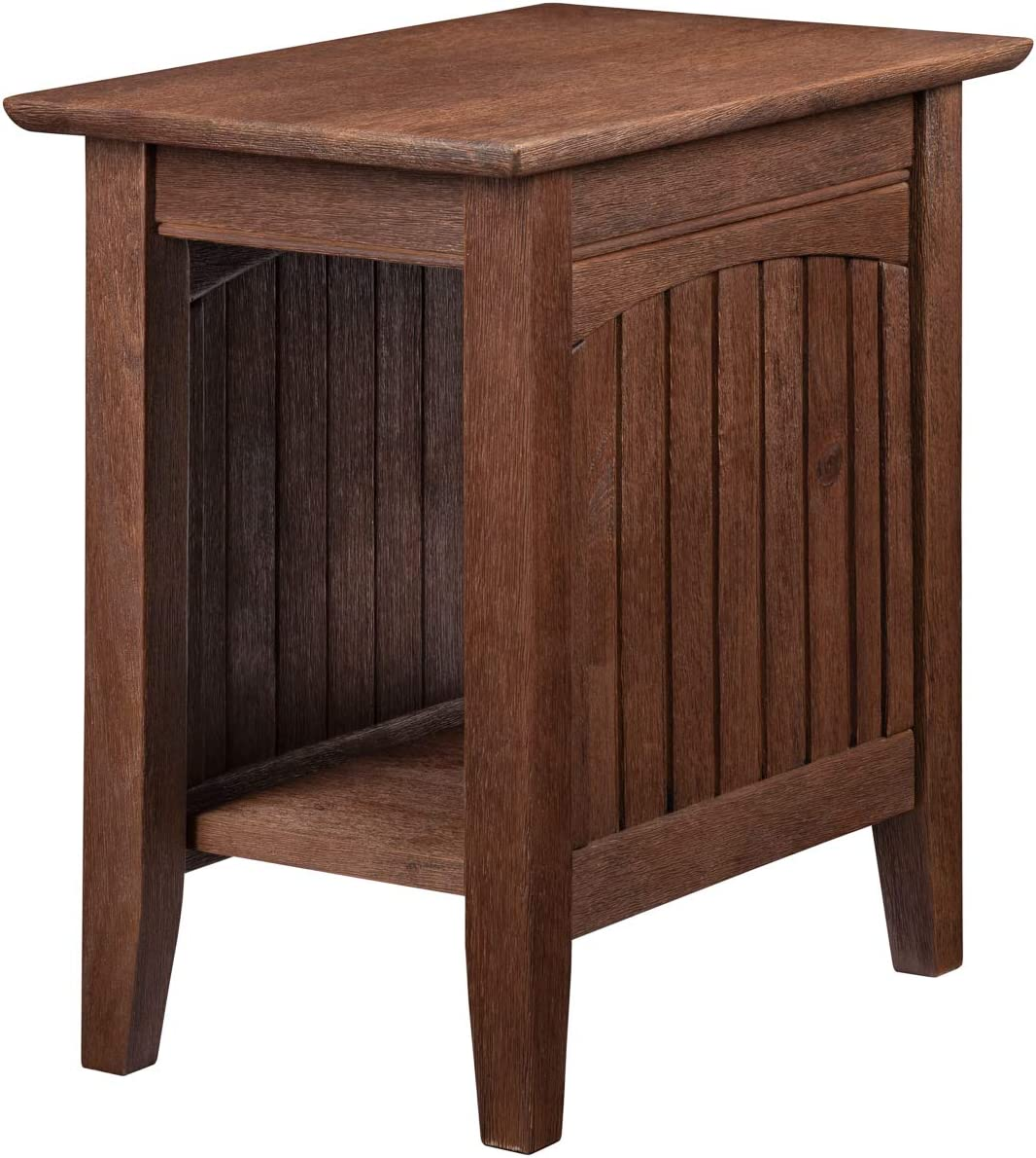 Atlantic Furniture Nantucket Chair Side Table, Coffee (22