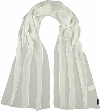 f68f15474133 Fraas Stola Aus Reiner Seide, Etole Femme, Blanc (10), Taille Unique ...