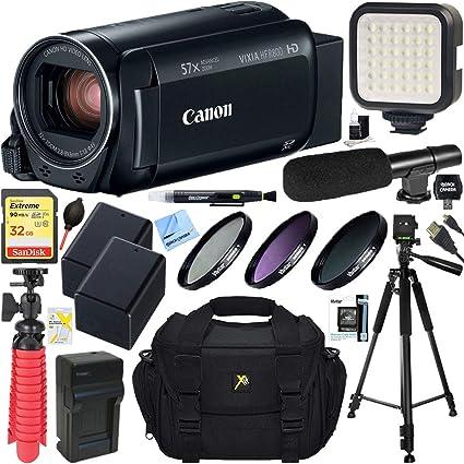Amazon.com: Canon VIXIA HF R800 videocámara con 57 x ...