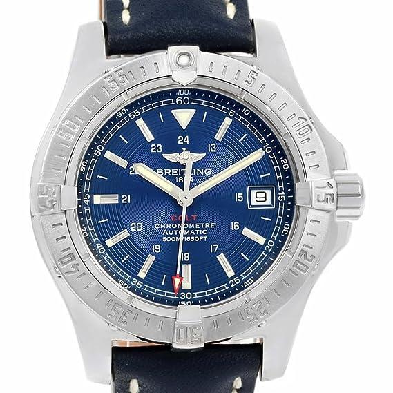 Breitling Colt automatic-self-wind Mens Reloj a17380 (Certificado) de segunda mano: Breitling: Amazon.es: Relojes
