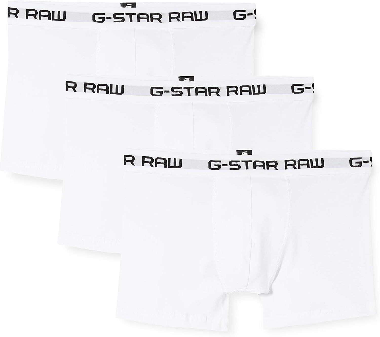 G-STAR RAW Classic Trunk Boxers (Pack de 3) para Hombre: Amazon.es ...