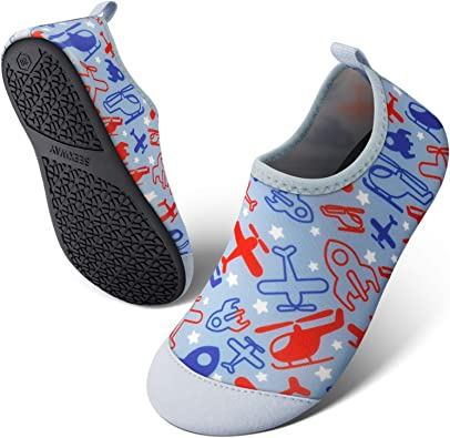 Amazon.com   SEEKWAY Toddler Kids Water Shoes Boys Girls Quick Dry Anti  Slip Aqua Socks for Outdoor Sports Pool Swim Beach Aquatics   Water Shoes