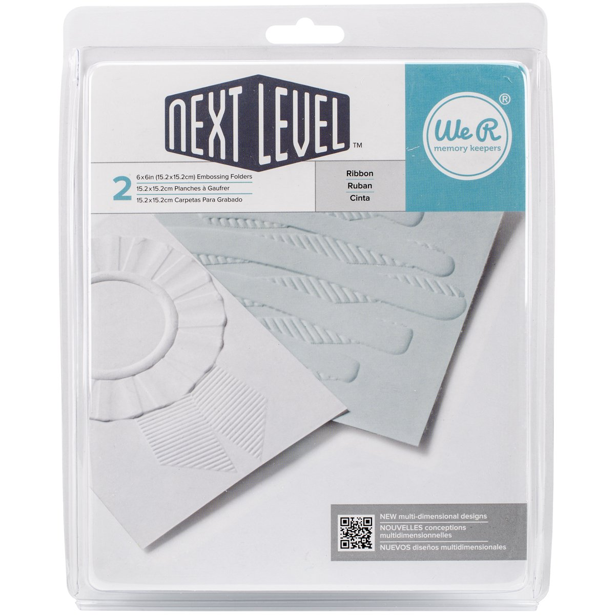 ABC /& 123 We R Memory Keepers Next Level Embossing Folder