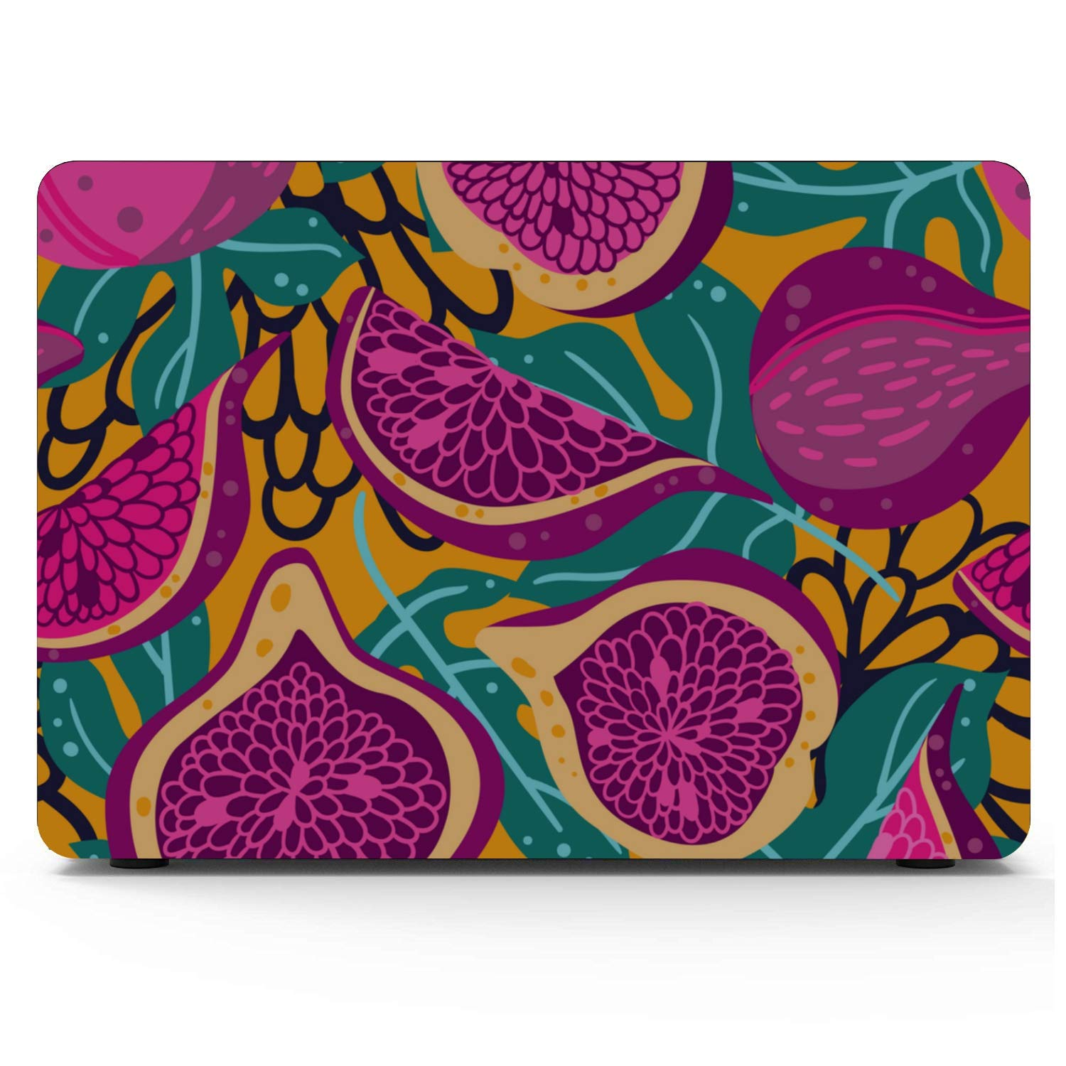Mac Pro Case Wild Nature Creative Red Fruit Fig Plastic Hard Shell Compatible Mac Air 11 Pro 13 15 MacBook Pro A1708 Case Protection for MacBook 2016-2019 Version
