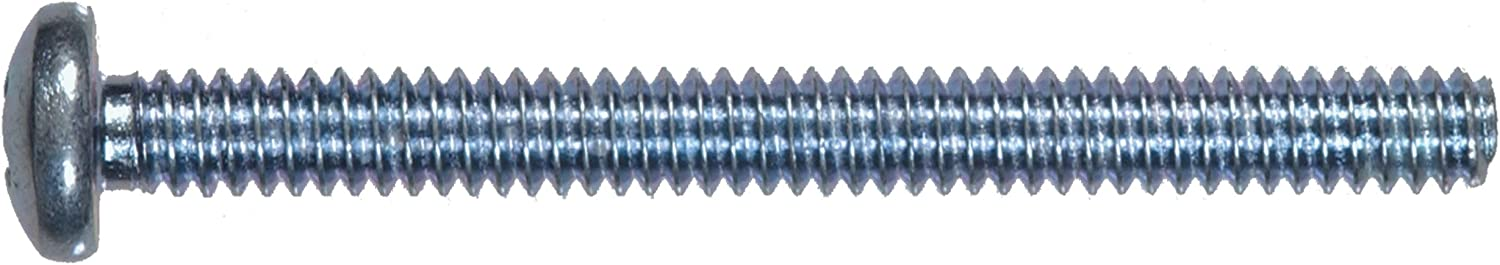 The Hillman Group 92132 8-32-Inch x 1-1/2-Inch Pan Head Phillips Machine Screw, 100-Pack