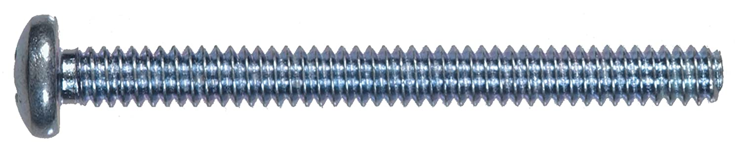 The Hillman Group 92098 6-32-Inch x 2-Inch Pan Head Phillips Machine Screw 100-Pack