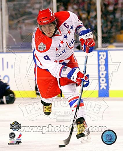 59a0c289b Image Unavailable. Image not available for. Color  Alex Ovechkin 2011 NHL  Winter Classic Action Photo 8 x 10in