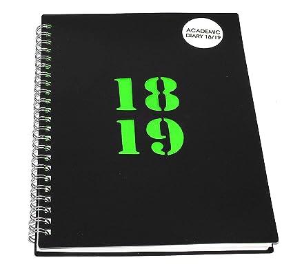 Agenda escolar 2018 - 2019 de alta calidad, tamaño A5, por ...