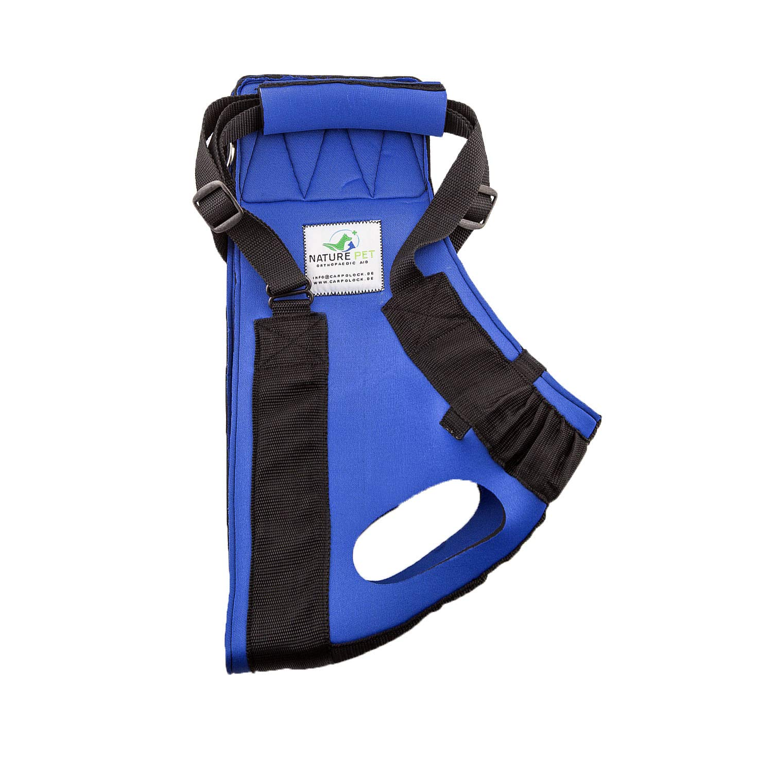 bluee XL bluee XL Nature Pet Medical Dog Front Carrier Harness Helping Harness for Elderly Dogs Dog Rehabilitation Aid Dog Front Lifting Harness (XL, bluee)