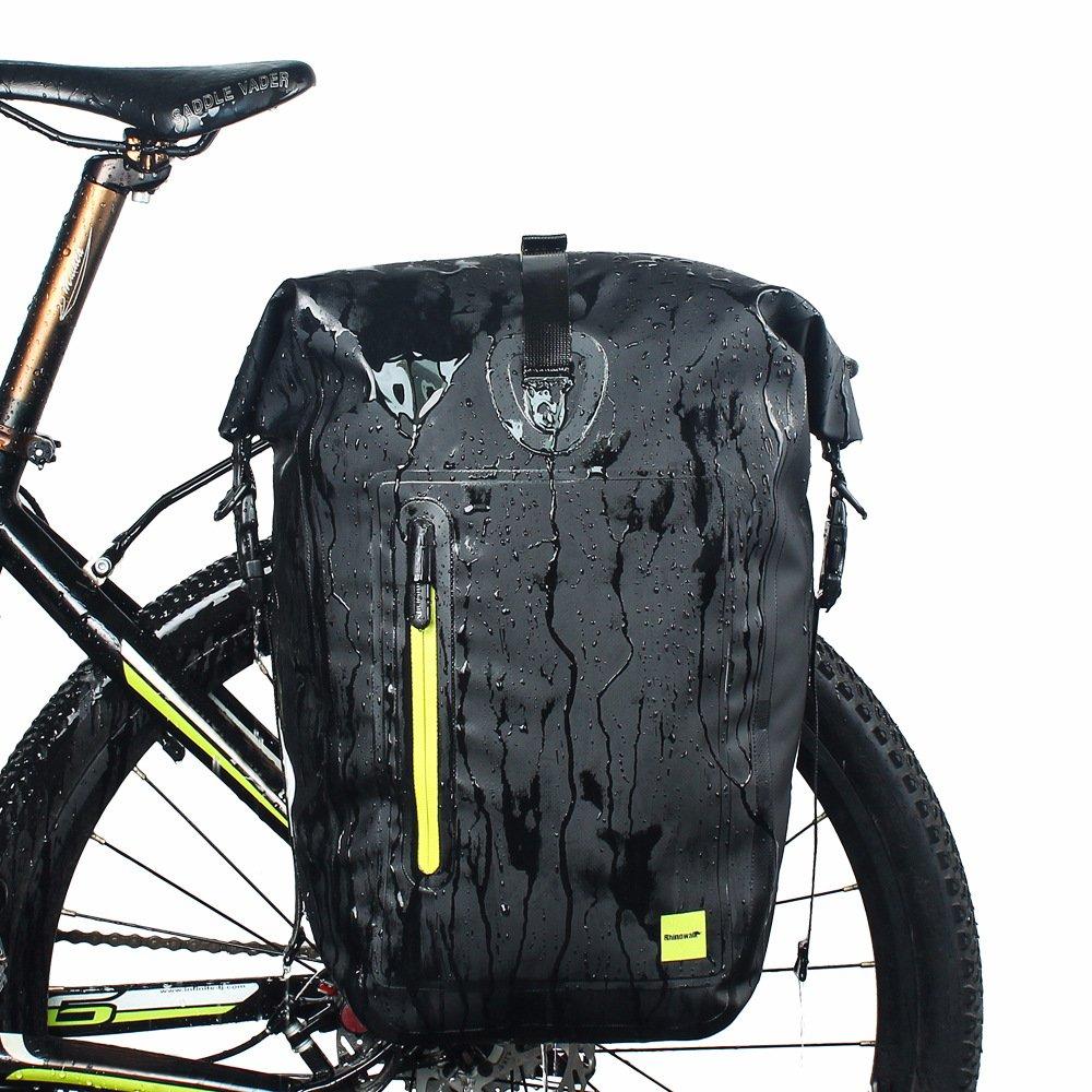 LKN 25L wasserdichte einseitige Fahrradtasche für den hinteren Fahrradträger