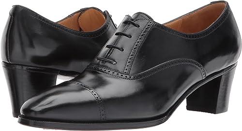| Gravati Women's Mid Heel Cap Toe Oxford | Oxfords