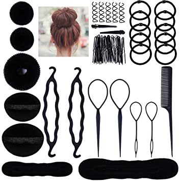 Lictin Hair Styling Set, Fashion Hair Design Styling Tools ...