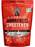 Lakanto Monkfruit 1:1 Sugar Substitute | 8.29 oz NON GMO (Classic White)