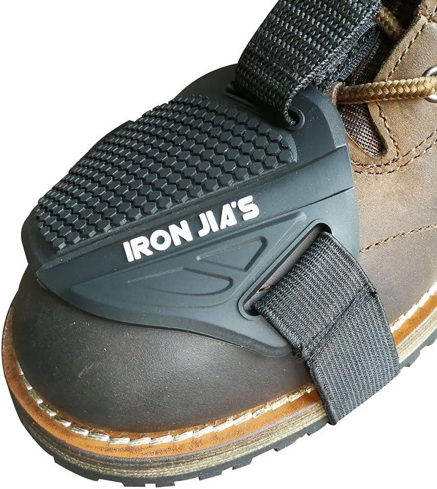 pi/ù forte con fascia per caviglia Moto Shifter shift Pad scarpe stivali di Protector Gear con antiscivolo