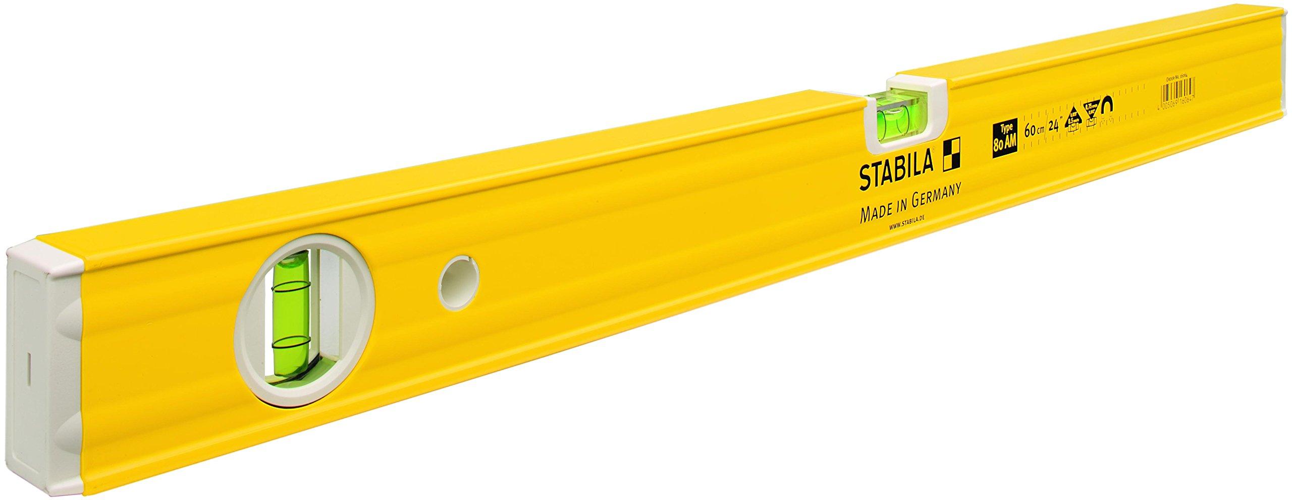 Stabila - 80Am Magnetic Level 2 Vial 80Cm 16065