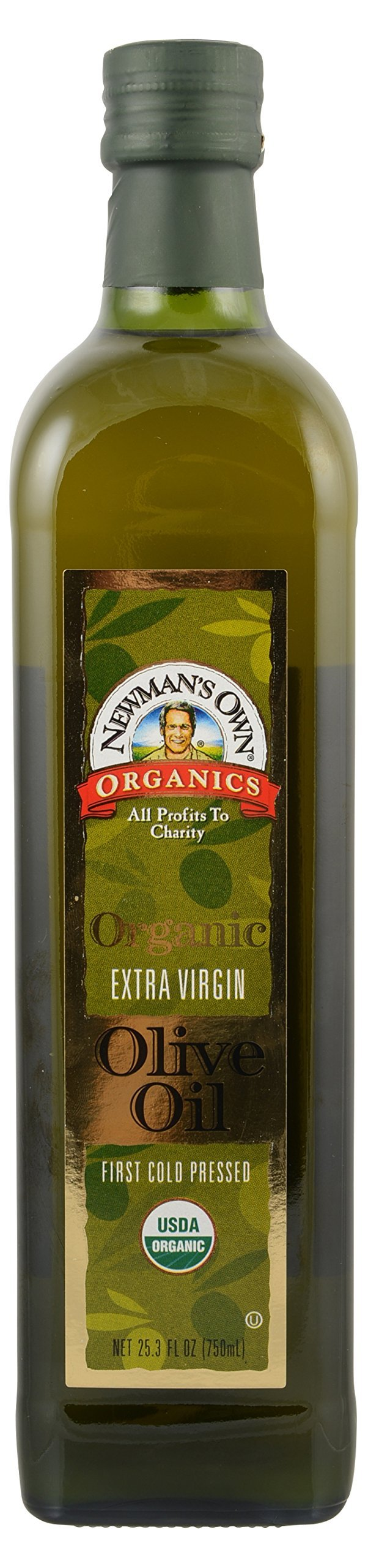 Newman's Own Organic Extra Virgin Olive Oil, 25.3 oz