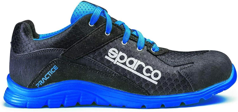Praxis Schuhe schwarz//blau Gr/ö/ße 45