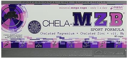 Olimp Sport Nutrition Chela MZB - ZMA Vitaminas y Minerales - 60 Cápsulas