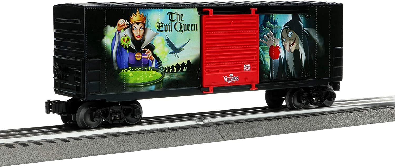 Lionel Evil Queen Hi-Cube Boxcar Train