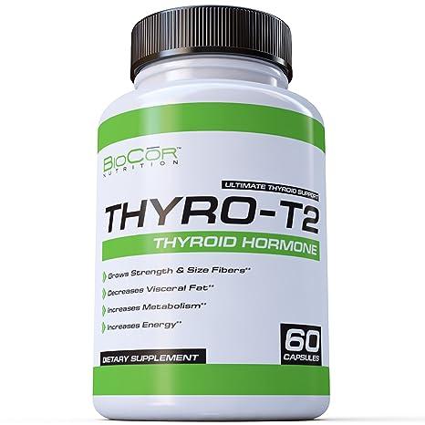 Biocor Nutrition Thyro T2 Thyroid Support Fat Burner Metabolism