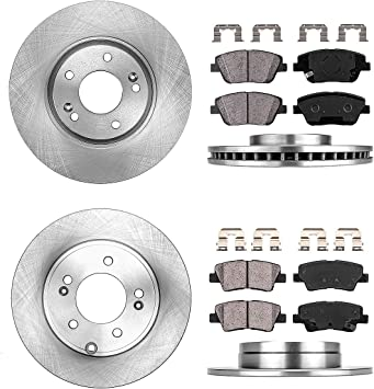 OEM Front Ceramic Brake Pad Set For Hyundai SONATA 2011-2013