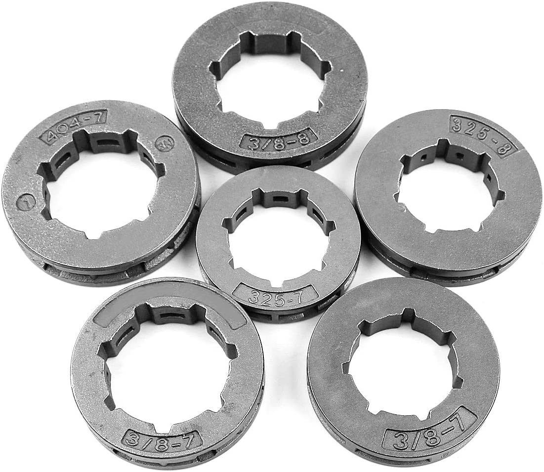 Chain Sprocket Rim 325-7 Model 7 Tooth Replacement for Chainsaw Nice BRYB