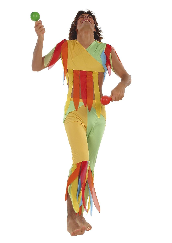 César - Disfraz de hippie para hombre, talla 48 (E856-001): Amazon ...