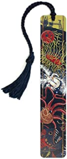 product image for Personalized Sequestration - Art by Jenny Pope, Colorful Wooden Bookmark with Tassel - Search B01ETRL9I6 for Non-Personalized Version