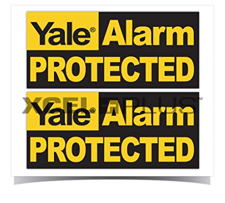 Yale hsa3000 window security yale alarm protected stickers