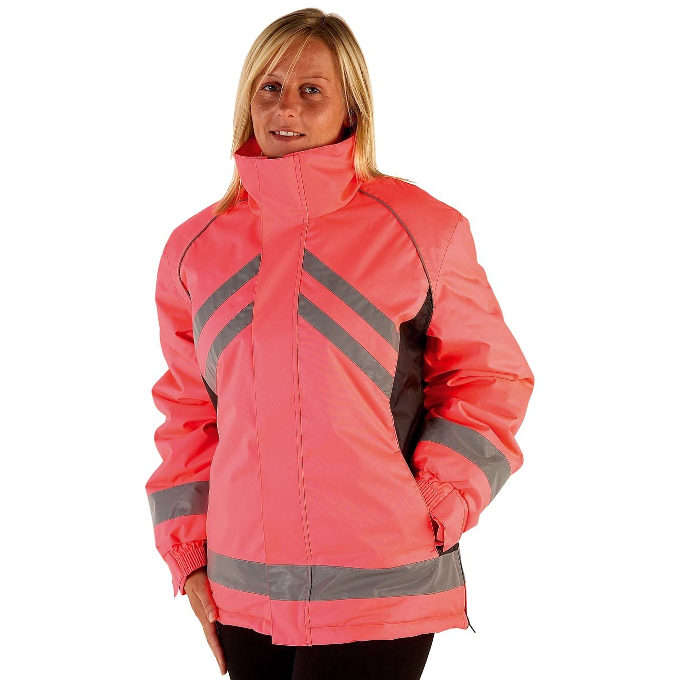 Yellow//Black, X-Large HyViz Waterproof Riding Jacket
